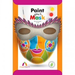 Kreatívna sada  Angel Malma papierová hračka- Vymaľuj si svoju masku!